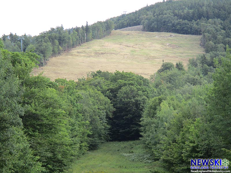 The Taft Superslope from Mittersill Alpine Resort, August 23, 2015