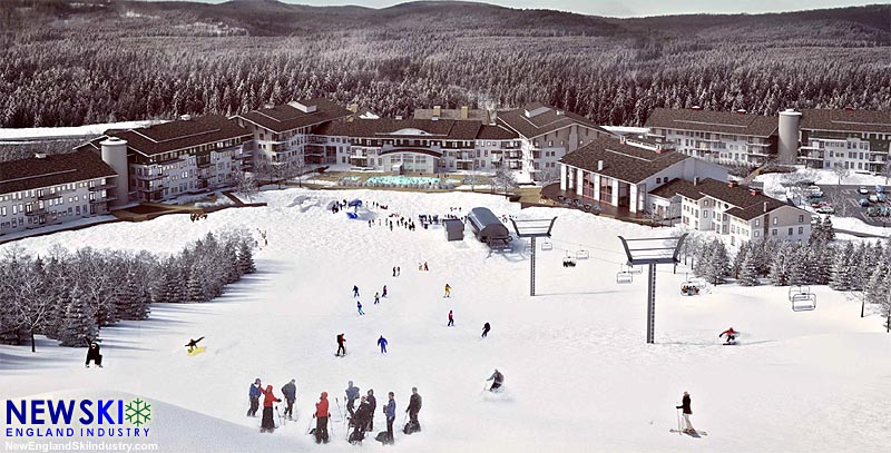 Mt. Snow Base Area Rendering