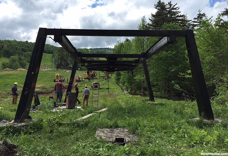 Removal of the Ski Baba Chairlift