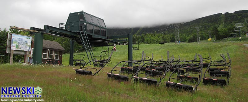 The Rangeley Double Chairlift (July 2016)